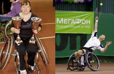 Теннисисты-колясочники разыграли «Кубок Мечты»