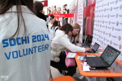 Волонтеры Сочи 2014