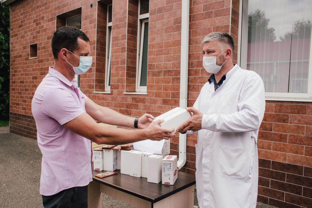 КФ «Победа» поддерживает краснодарских врачей