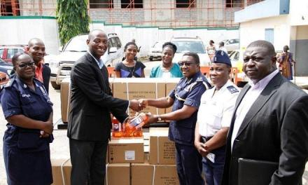 AngloGold Ashanti gives medical supplies for care of flood disaster victims