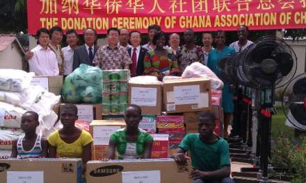 Chinese Society of Ghana and SYTO donate to two orphanages in Northern Ghana