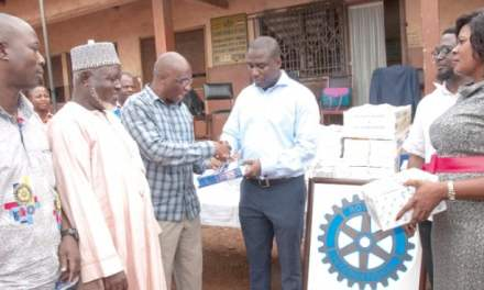 Rotary Club of Accra East supports Islam Training Institute at Kanda