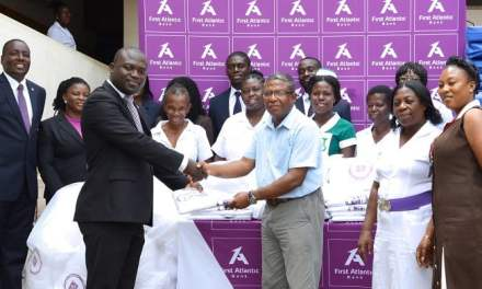 First Atlantic Bank gives to Children's Hospital in Accra to mark 20th Anniversary