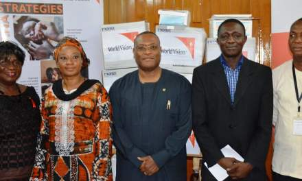 World Vision Ghana donates medical supplies to Ministry of Health