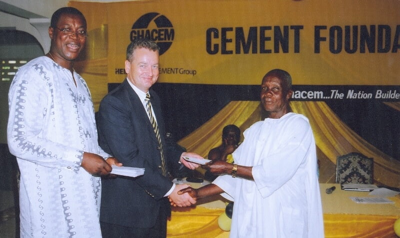 GHACEM gives 21,000 bags of cement to deprived communities in three regions