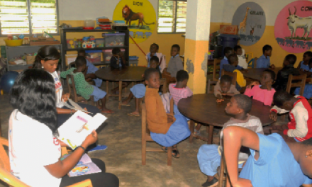 Newmont builds rec facilities for visual impaired students