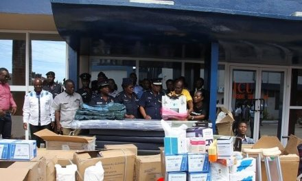 SCOAN and Emmanuel TV partners donate to military and police hospitals