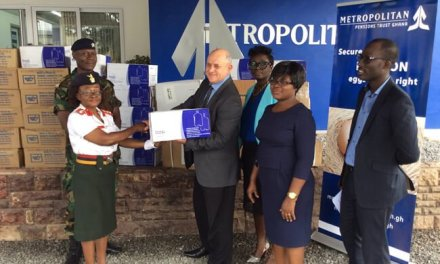 Metropolitan Group supports Blood Bank and 37 Military Hospital