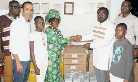 Dannex provide scholarship and supplies to orphanage