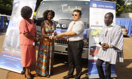 Caitec Group donates delivery truck in support of the National Best Fisherman prize