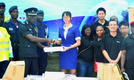 Virony supports police with building materials