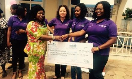 Newmont women donate GHc45,742 for breast cancer education