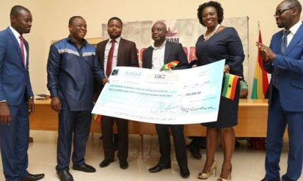 GCNet supports Ghana @60 with 250,000 cedis