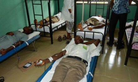 Rotary Club Accra Ring Rd Central hold 'Give Blood, Save A Life'