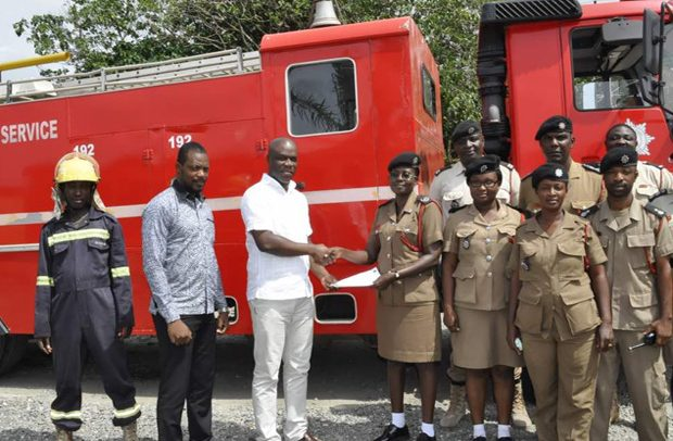 New Town fire station gets support from GHACEM