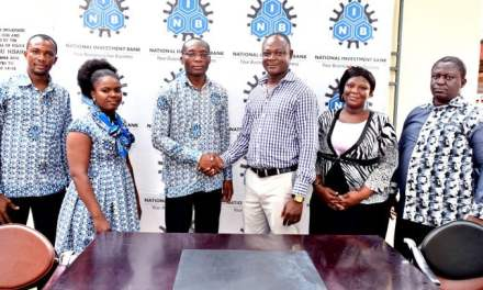NIB gives office furniture to Domestic Violence Unit of Ghana Police