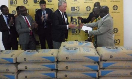Ghacem donates cement supplies to Tema General Hospital