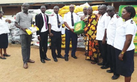 Salvation Army supports flood victims at Agona Nyakrom