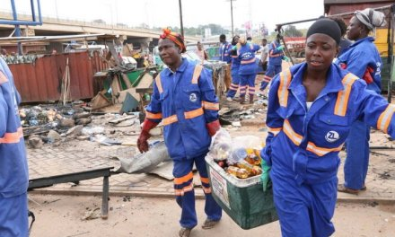 Zoomlion cleans up debris from Accra gas explosion