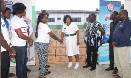 PZ Cussons Ghana supports Amasaman District Hospital