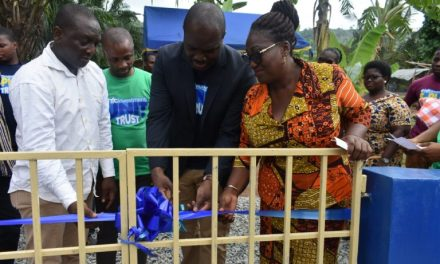 HFC Investments constructs borehole for Manchie School