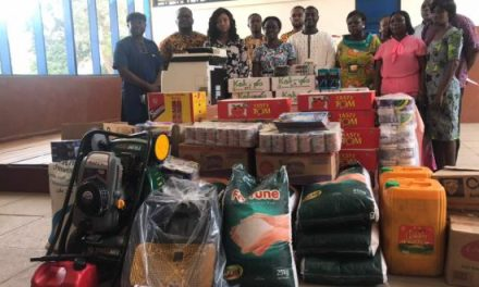 CBOD gives equipment and supplies to Dzorwulu Special