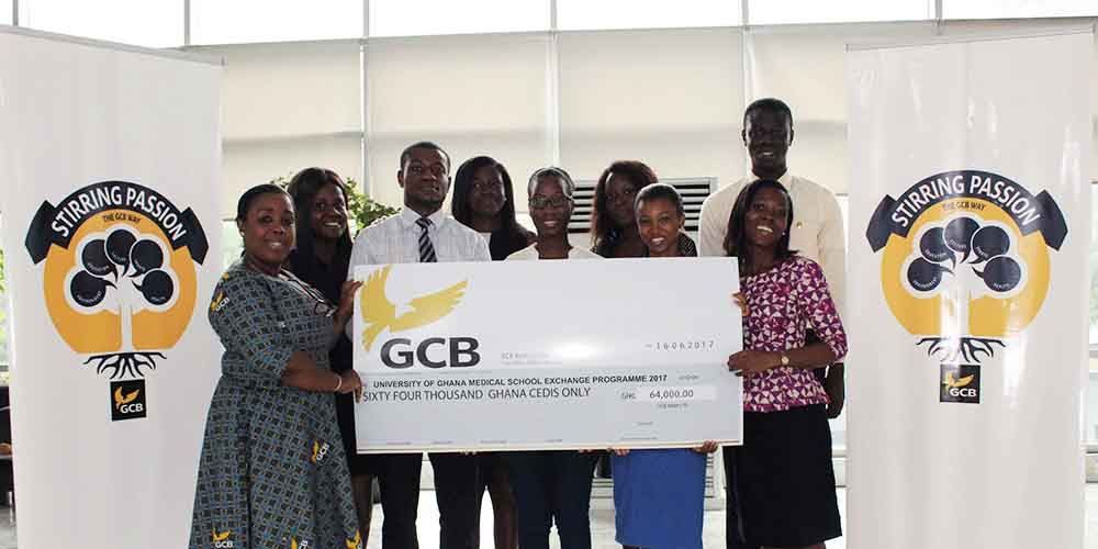 GCB Bank supports 20 medical students' study abroad programme