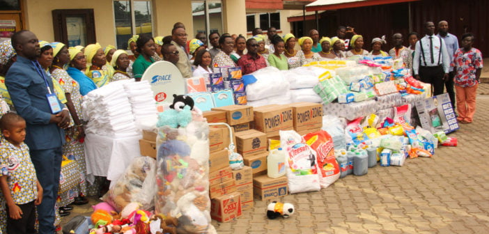 CAPI Women's Ministry gives to Mahyia District Hospital