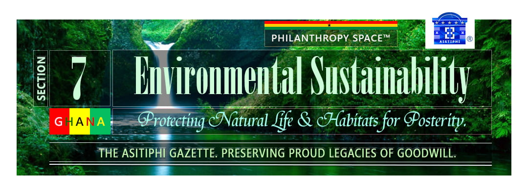Banner for Section 7 Aistiphi Gazette sustainable environment