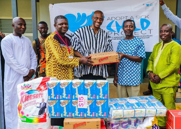SUNDA donates to May 9 'Save a Sick Child' project