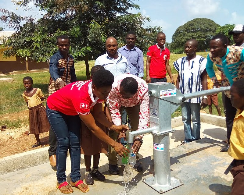 Nestlé, IFRC provide WASH facilities for two communities
