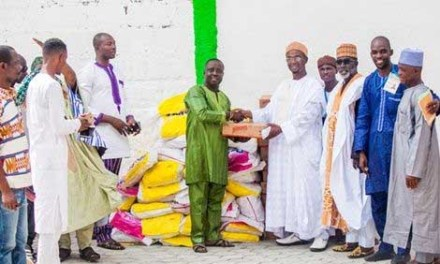 SUNDA International donates to Kumasi Mosque