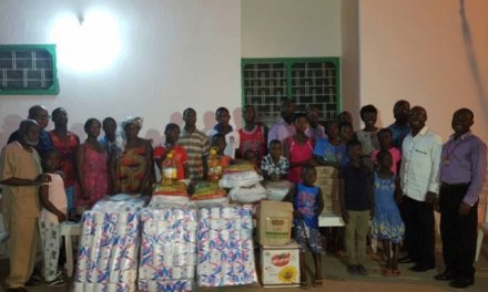 Multimedia gives to Teshie Children's Home