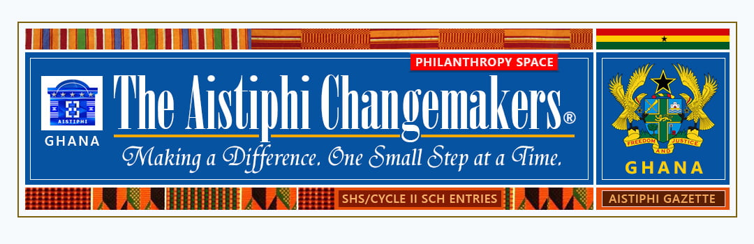 Banner for Aistiphi Changemakers page