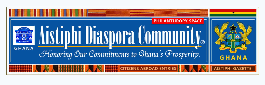Banner for Aistiphi diasporate community page