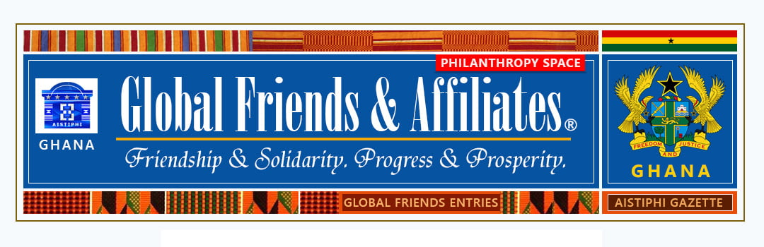 Banner for global friends page - aistiphi gazette