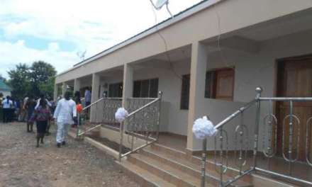 ICGC Holy Ghost provides facilities for Kintampo school