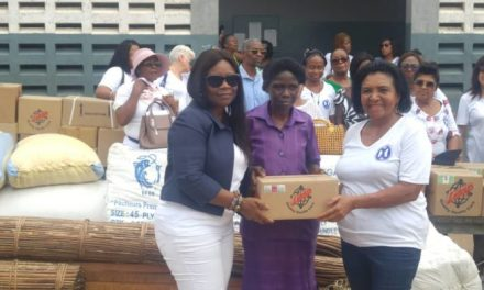 GIWC gives supplies to Akropong School for the Blind