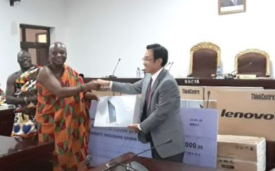Chinese Govt supports digital project of House of Chiefs