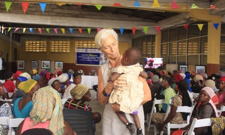 Christine Lagarde gives US$15K to PAYDP for 'kayayei' project