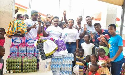 Tima Kumkum reaches out to Royal Seed Orphanage