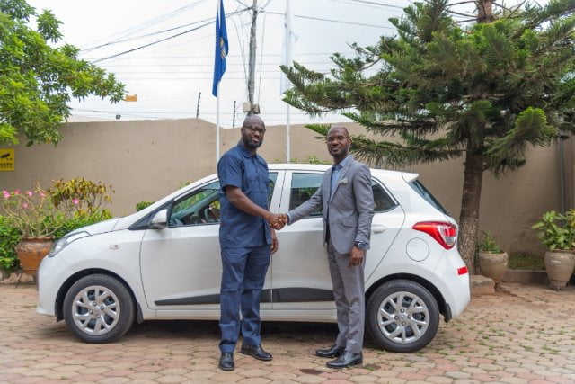 YOKS supports Commonwealth Essay Contest 2019 with car