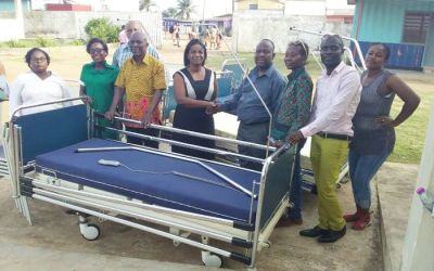 Ghanaian Community in Belgium gives to 8 hospitals