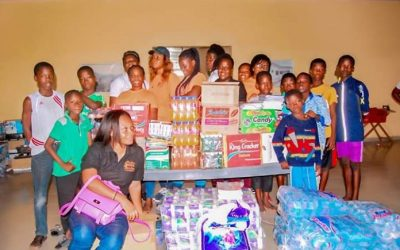 Salon Services Academy gives to Teshie Children's Home