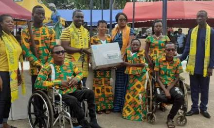 MTN Foundation gives 20 PWDs vocational training