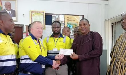 AnglogGold Ash gives GH¢250K for new KNUST Obuasi campus