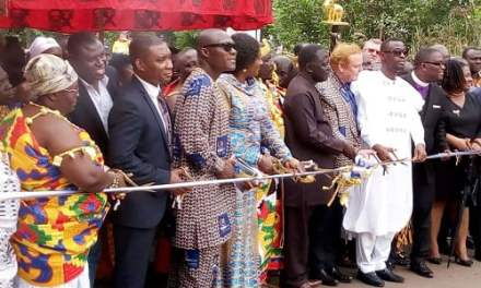 Gold Fields finances rehab of Tarkwa-Damang Road