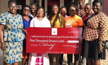 African Regent Hotel gives to Center for Radiotherapy and Nuclear Medicine