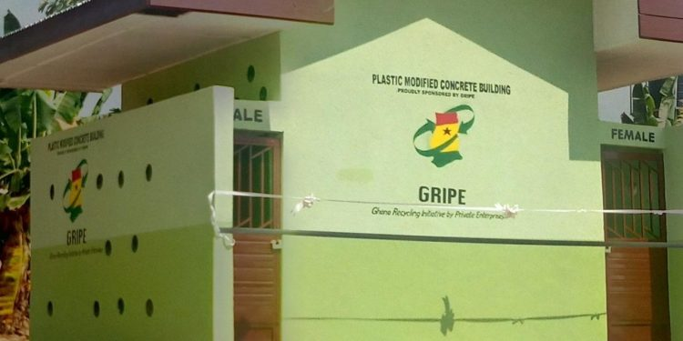 GRIPE builds sanitation facility for Domeabra JHS