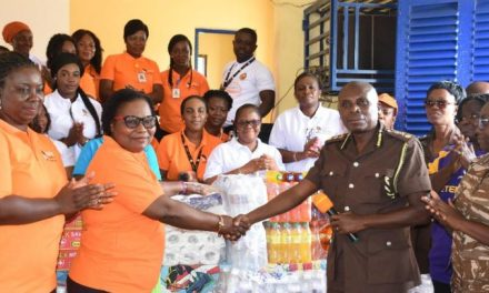 SSNIT Ladies give supplies to Senior Correctional Centre